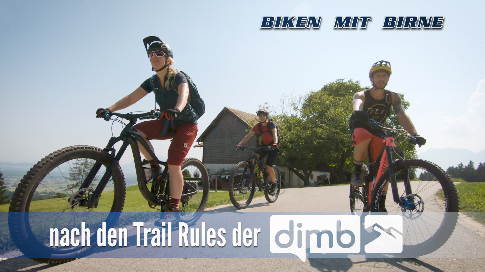 Wir beachten die DIMB Trail Rules